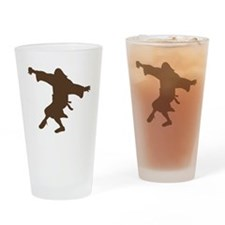 Dancing Dude Drinking Glass