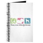 Peace, Love, Italian Greyhounds Journal
