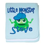 Little Monster Steve baby blanket