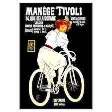 Manege Tivoli French Bicycles 9x12