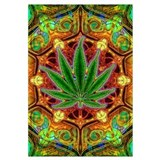 Psychedelic Marijuana Mandala