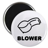 "whistle blower sports 2.25"" Magnet (10 pack)"