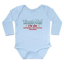 Trust Me Informal education t Long Sleeve Infant B