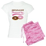 Journalist Gift Doughnuts pajamas