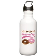 Psychologist Gift Doughnuts Water Bottle