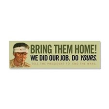 Bring Them Home Car Magnet 10 x 3