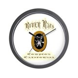 River Rats Compton Wall Clock