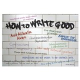 How to Write Good 11x17 , Graffiti