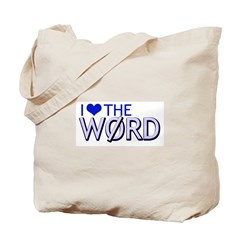 The WORD Tote Bag