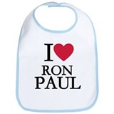 I love Ron Paul Bib