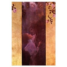 Gustav Klimt 11x17 Print - The Love