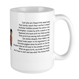 sweet peas large mug