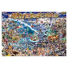 Waterworld 24x36