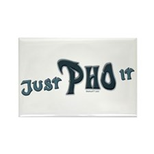 Just Pho It Rectangle Magnet