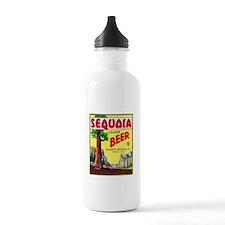 California Beer Label 3 Water Bottle