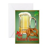 Breakfast of Champions-Happy Greeting Cards (Pk of