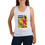 Titter Hot Pin Up Brunette Girl Women's Tank Top