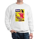 Titter Hot Pin Up Brunette Girl Sweatshirt