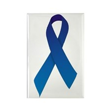 Blue Ribbon Rectangle Magnet (100 pack)