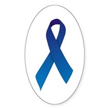 Blue Ribbon Decal