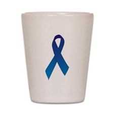 Blue Ribbon Shot Glass