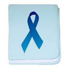 Blue Ribbon baby blanket