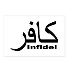 Infidel (1) Postcards (Package of 8)