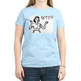 &quot;WTF?&quot; Women's Pink T-Shirt