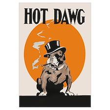 Hot Dawg Vintage Bulldog