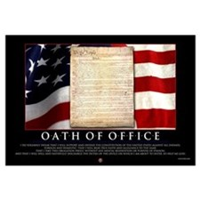 Oath of Office 23x35