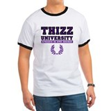 THIZZ UNIVERSITY purple  T