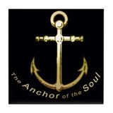 The Anchor of the Soul Tile Coaster