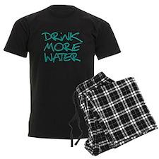 Drink More Water_Blue2 Pajamas