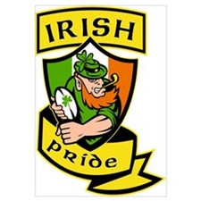 Irish leprechaun rugby