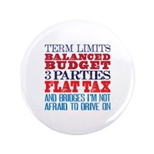 "My Demands 3.5"" Button (100 pack)"