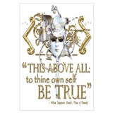 Hamlet &quot;Be True&quot; Quote