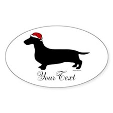 Santa Doxie Decal