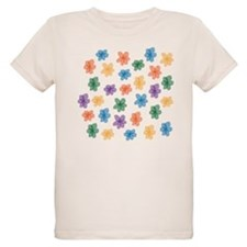 Pattern of Flowers T-Shirt