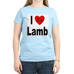 I Love Lamb Women's Pink T-Shirt