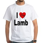 I Love Lamb White T-Shirt