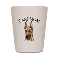 Brindle Dane Mom Shot Glass