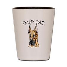Brindle Dane Dad Shot Glass