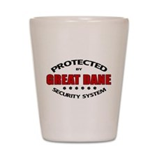 Great Dane Security Shot Glass