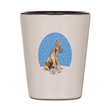 Great Dane Deer Brindle Shot Glass