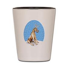 Great Dane Deer Brindle UC Shot Glass