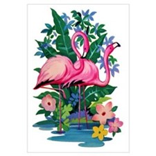 """Retro Flamingo"""