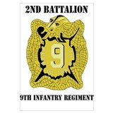 DUI - 2nd Bn - 9th Infantry Regt with Text Mini Po