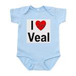 I Love Veal Infant Creeper