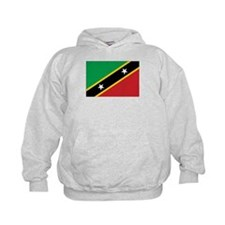 St. Kitts and Nevis Flag Hoodie