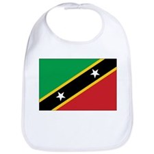 St. Kitts and Nevis Flag Bib
